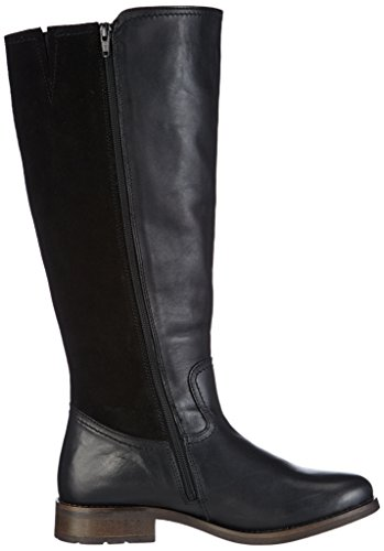 Lara Marc Shoes 100 Damen Schwarz Reitstiefel Black CC5axr