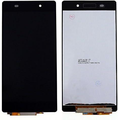 نمایشگر LCD با دیجیتایزر صفحه لمسی سیاه برای قطعات جایگزین مونتاژ Xperia Z2 L50W D6502 D6503