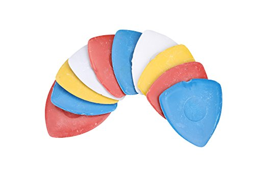 Triangle Tailor's Chalk Sewing Quilting Notions (Pack of 10 - 4 Color) (Tailors Chalk)