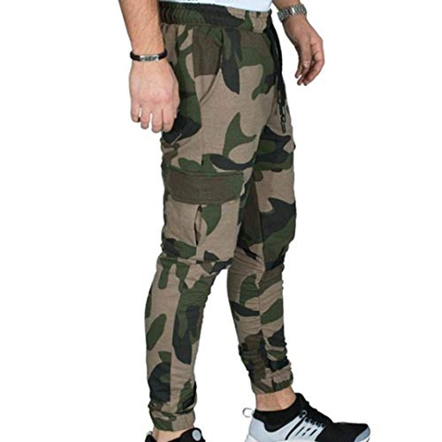 Été Décontracté Hommes Chinois Bloomers Poche Battercake Style Sarouel Confortable Lâche De Pantalon Mode Vintage Femme Armeegrün Pour w7zqf1