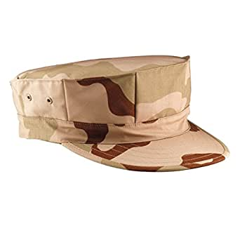Tri-Color Desert Camouflage Marine Corps Fatigue Cap 5639 Size Large