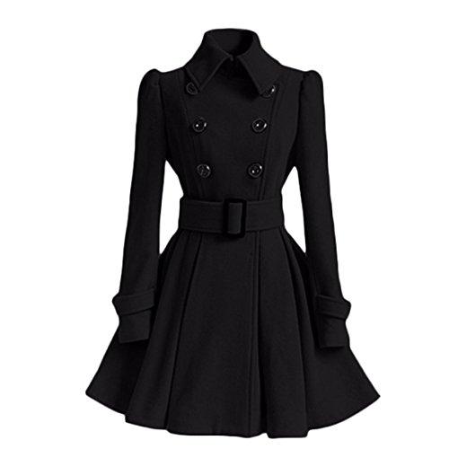 Wool Melton Toggle Coat - 6