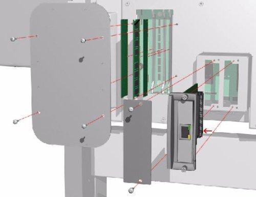 HP JetDirect 600N EIO Print Server J3110A C-4592
