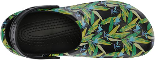 black Noir Graphic Bistro Adulte Mixte Clog parrot Crocs Green Sabots qgY0vw65vx