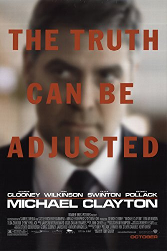 "Michael Clayton 2007 Real 27"" x 41"" Original Movie Poster Rolled Fine, Very Good Michael O'Keefe Mystery U.S. One Folio Advance"