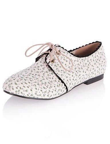 Negro Mujer Rosa Zapatos Tejido Redonda Plano De Oxfords Eu42 Cn32 Eu33 Zq Punta us3 5 5 5 Uk1 Blue Uk8 Tacón Casual Green Cn43 5 us10 zvWAFEnP