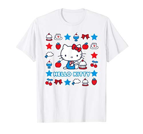 Hello Kitty Stars and Sweets T-Shirt - Hello Kitty Sweets