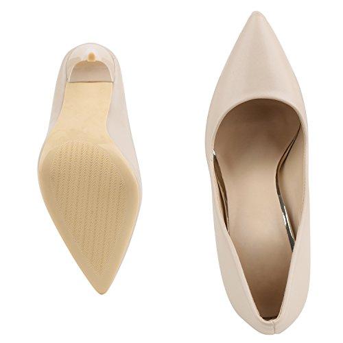 napoli-fashion - Cerrado Mujer, color beige, talla 38