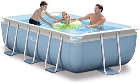 RAVIDAY Pack piscina tubular Intex Prism Frame 3 x 1,75 x 0,8 m + ...