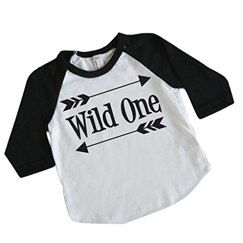 Price comparison product image Boy First Birthday Outfit,  First Birthday Shirt,  Wild One Shirt (12-18 Months)