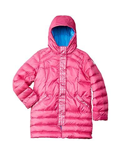 (Spyder Girl's Glam Down Jacket, Raspberry, Medium)