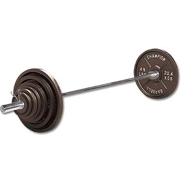 Champion Barbell Olympic Set, 300 lb