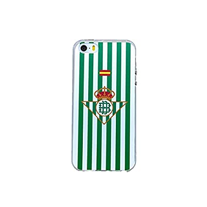 Real Betis Balompie S0146TPUTRRBB14 Escudo - Funda Protectora para Apple iPhone 5/5S/Se