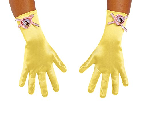 Costumes Beast Beauty The And Boys (Belle Child Gloves, Yellow, One)