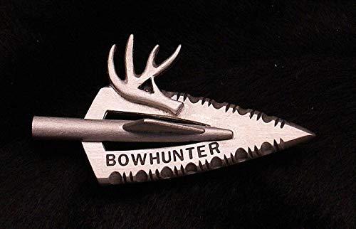 Braides Bowhunter Broadhead w/Antler Archery Pin