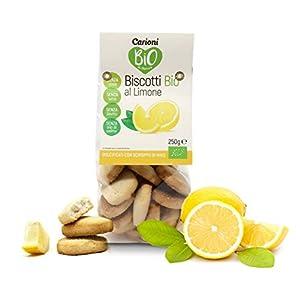 Carioni Food Health Biscotti al Limone con Olio di Cocco