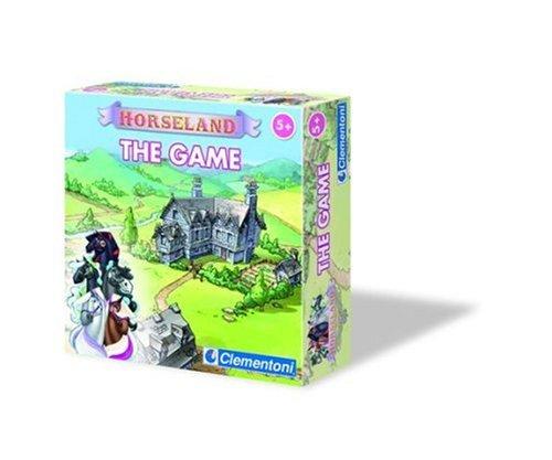 Clementoni – 62120 – Gesellschaftsspiel – Horseland – Das Spiel