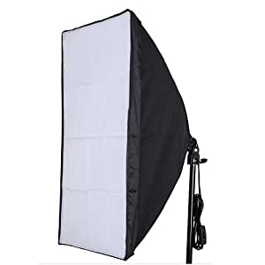 "Neewer 24""x24""/60cmx60cm Wired Studio Softbox Diffuser with E27 Socket for Fluorescent Bulb Lamp"