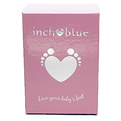 Inch Blue - Patucos de Piel para niño Azul azul