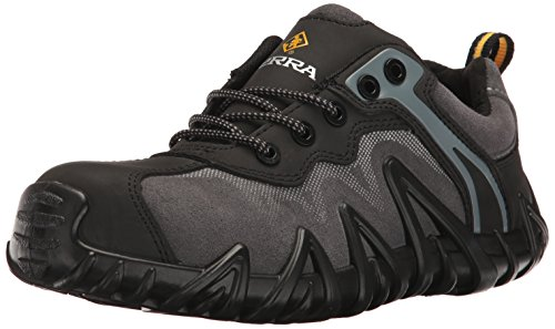 Kodiak Steel Toe Shoes - Terra Men's Venom Work Shoe, Black, 10 M US