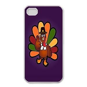 iPhone 4,4S Phone Case Thanksgiving Turkey Q6A1159492
