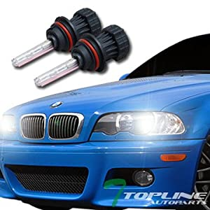 Topline Autopart 6000K Hid Bi-Xenon 9007/Hb5 High/Low Beam Head Lights Bulbs Conversion Kit