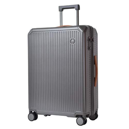 Echolac エコーラック SHOGUN ショーグン スーツケース TSAロック搭載 4輪 67L 3泊 4泊 61.5cm PC148-24  グレー B07NBY69SP