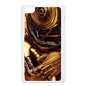 Star Wars C3PO iPod Touch 4 Case White Exquisite gift (SA_471841)