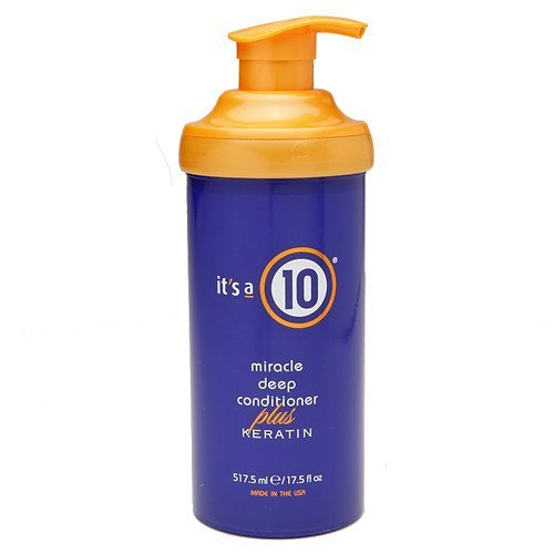 - it's a 10 miracle deep conditioner plus keratin,Keratin protein enriched 17.5 oz (517.5 ml) -1 ea