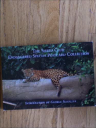 The Sierra Club Endangered Species Postcard Collection