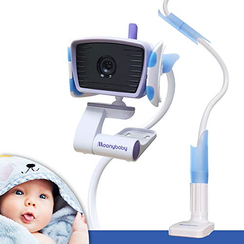20% Off ! $15.99 Only! EasyMount Universal Baby Monitor Mount, Infant Video Monitor Holder and Shelf, Fit for Most Baby Cameras, Monitors, Flexible Camera Stand and Bendy Arm for Best View of Baby by MoonyBaby (Image #7)