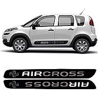 Faixa Lateral Air Cross 2016/ Adesivo Preto Citroen Aircross