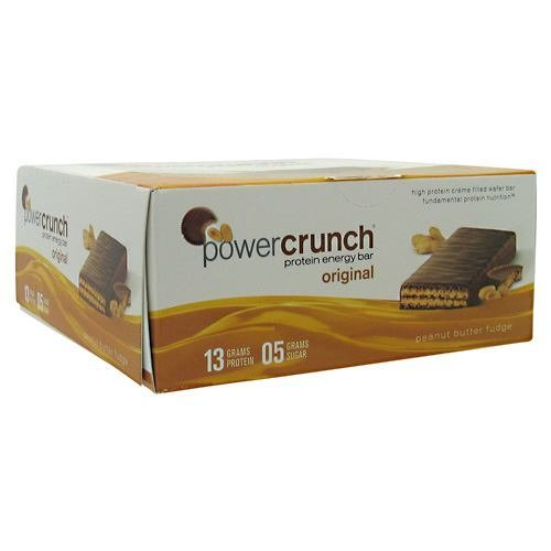 Bionutritional Research Group Power Crunch - Peanut Butter Fudge, 12-1.4 oz Cookies (3 Pack)
