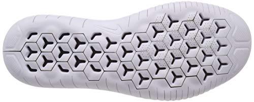 Nike Bianco 001 Scarpe white Basse Da black Free Ginnastica Uomo 2018 Flyknit Rn r4qrSzR