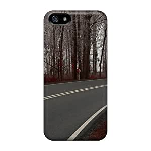 Iphone 5/5s Case, Premium Protective Case With Awesome Look - Autumn Road by supermalls
