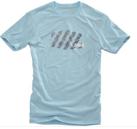 [100% Mens Strike Men's T-Shirt (Blue,X-Large)] (Motocross Casual Wear)