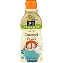 365 Everyday Value, Organic Salted Caramel Sauce, 15.8 Ounce