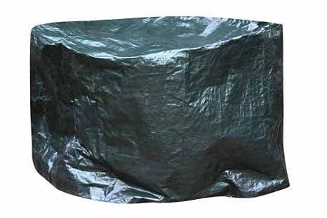 Gardeco COVER-FB110 - Funda para estufa de leña u hogar exterior de hasta 110 cm de diámetro, color verde: Amazon.es: Jardín