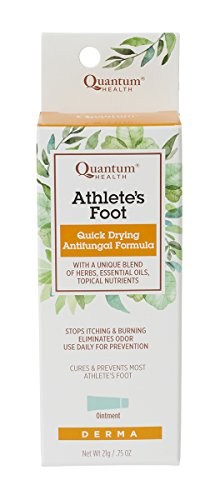 Quantum Derma,  Athlete's Foot Cure, 21 Grams  (Pack of 2)