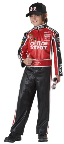[California Costumes Nascar Tony Stewart Child Costume, Large Plus] (Affordable Costumes)