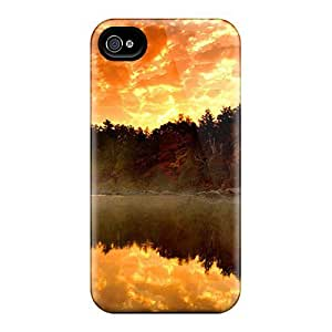 Cute High Quality Iphone 4/4s Misty Sunset Case