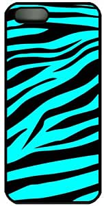 Blue Zebra?For Apple iPhone 4S 4?TPU Case Cover