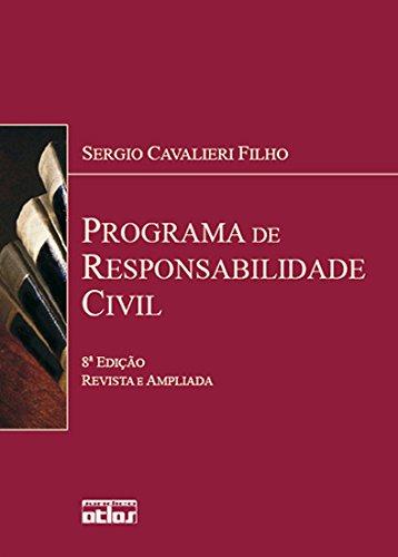 Programa de Responsabilidade Civil - 8ª Ed 2008