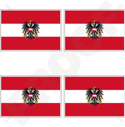 AUSTRIA Austrian State Flag 2