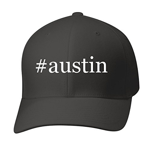 BH Cool Designs #Austin - Baseball Hat Cap Adult, Black, (Austin Baseball)