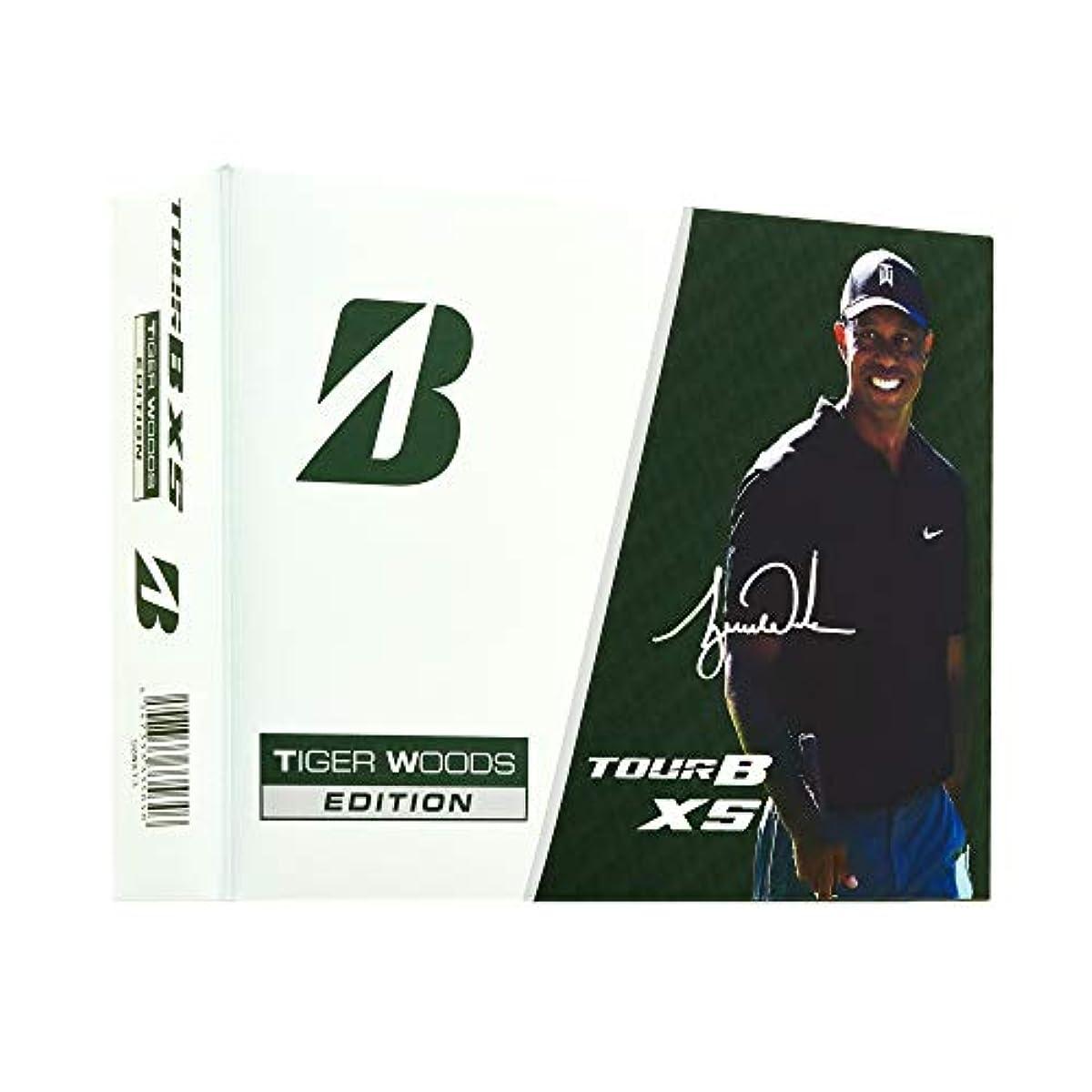 [해외] BRIDGESTONE(브리지스톤)골프 볼TOUR B XS 2020년 모델 TIGER WOODS EDITION3