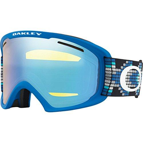 Oakley O-Frame 2.0 XL Snow Goggles, Digi Snake Iron Blue, - Blue Ski Oakley Goggles