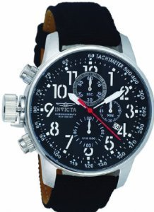 Mens Watch Invicta 1512 Force Stainless Steel Lefty Force Chronograph Black ()