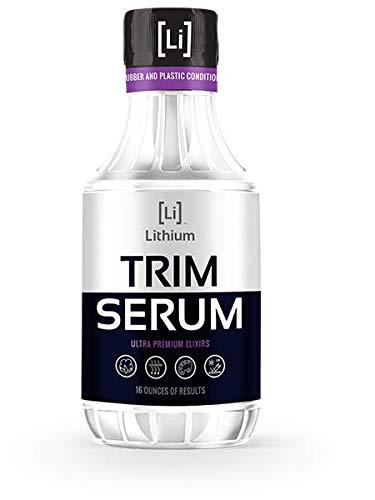 (Lithium Auto Elixirs Trim Serum- Plastic Restorer- Restores Even The Most Damaged Plastic, Rubber and Vinyl, Last for Months, Penetrates Plastic Pores Restoring Color. (16oz).)