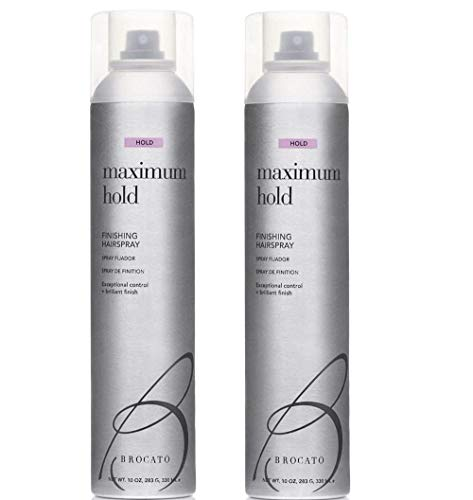 Brocato Maximum Hold Hairspray 10 Oz. (Set of 2) ()